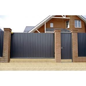 В'їзні ворота Redwin з хвірткою коричневі