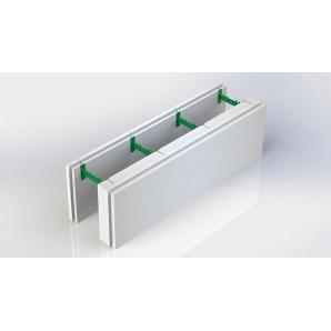 Розбірний термоблок 100+50 з регульованою шириною бетонного ядра стіни 300х1000 мм