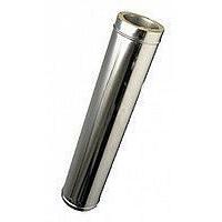 Труба-подовжувач з теплоізоляцією нерж/оц Версія Люкс L-0,5-1 м 0,8 мм D 100-300 мм