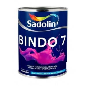 Фарба для стін BINDO 7 BW 1 л