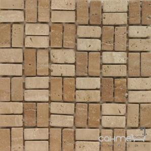 Мозаїка Topwell Stone DS-S008 WHITE/IVORY TRAVERTIN (5листов)