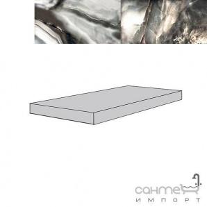 Плитка керамограніт сходинка ліва кутова REх ALABASTRI DI REх FUME ANGOLI Sх 33х120х3 739937