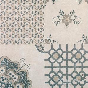 Плитка для підлоги декорована Kerama Marazzi SG614300R Королівська дорога беж обрізний 60х60