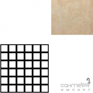 Керамограніт мозаїка REх PIERRES AMBRE MOSAICO 5х5 MIх 30х30 724272