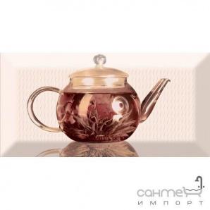 Плитка керамічна декор Absolut Keramika TEA Decor 01A 10х20