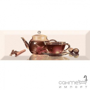 Плитка керамічна декор ABSOLUT KERAMIKA Serie Tea 01 C