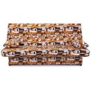 Диван-ліжко AMF Ньюс 1930х950х950 мм City brown з двома подушками