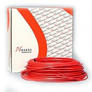Двожильний нагрівальний кабель для сніготанення Nexans Red Defrost Snow 1270/28