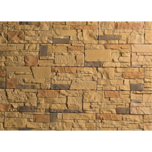 Плитка бетонна Einhorn під декоративний камінь МАРКХОТ-1051, 125Х250Х25 мм