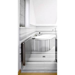 Мармур Marmara white 30 мм білий з сірим сляб