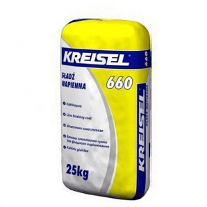 Шпаклівка пластична Kreisel 660 25 кг