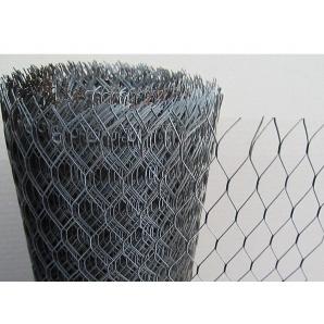 Сітка просічно-витяжна оцинкована 0,5 мм 15х30 мм 1х10 м