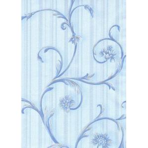 Шпалери паперові New Service Ексклюзив-Люкс 020 10,05х0,53 м блакитні