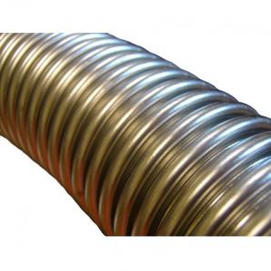Гофрована труба нержавіюча сталь 25х600 мм