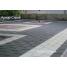 Тротуарна плитка вібропресована Цегла 100х200 мм сіра