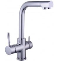 Змішувач кухонний з підключенням до фільтру GLOBUS LUX GLLR-0888 Chrom
