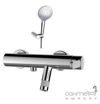Змішувач для ванни з душовим гарнітуром GRB Tender 40336400 хром