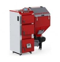 Твердотопливный котел DEFRO KOMFORT EKO DUO UNI R универсальный автоматическая подача топлива 25 кВт