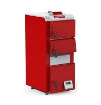 Твердотопливный котел DEFRO ECONO PLUS 12 кВт с ручной загрузкой и электроникой 12 кВт