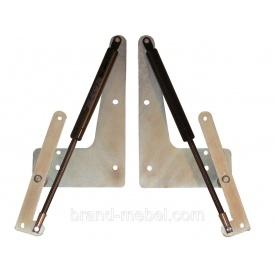 Механізм підйому ліжка трансформера МТ10 газовий ліфт 450N