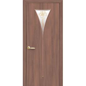 Двери межкомнатные Новый стиль Модерн Бора экошпон 600 х2000 х34 мм ясень патина