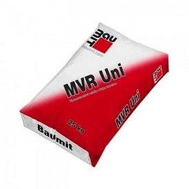 Стартовая штукатурная смесь Baumit MVR Uni