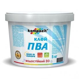 Клей ПВА KOMPOZIT D-3 1 кг