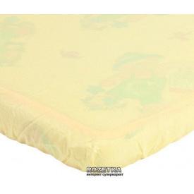 Наматрацник Еко Пупс Дитячий Непромокальний Premium 60х120 см Жовтий