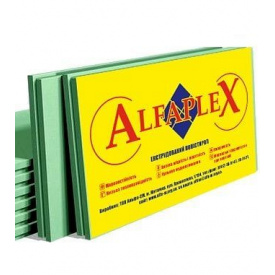 Пенополистирол экструдированный ALFAPLEX 40x1200x550 мм