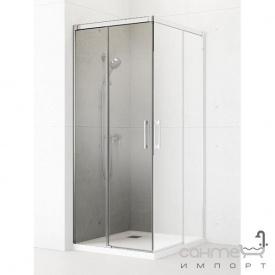 Двері прямокутної душової кабіни Radaway Idea KDD 100 лівостороння 387062-01-01L