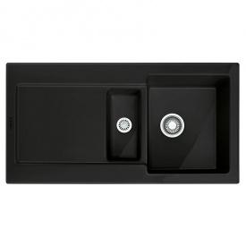 Мойка керамика Fraceram MRK 651-100 черный матовый Franke (124.0380.341)