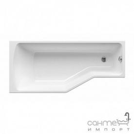 Асимметричная ванна Besco PMD Piramida Integra 170x75 белая левая