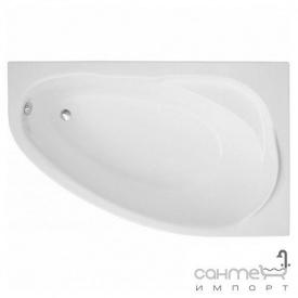 Асиметрична ванна Polimat Marea 160x100 P 00532 біла права