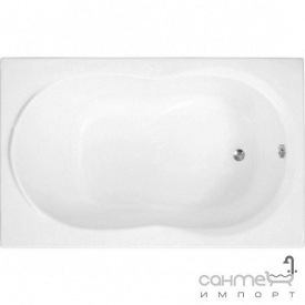 Прямокутна ванна Polimat Gracja 120x70 00321 біла