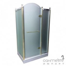 Душова кабіна Orans SR-1654-COMBI gold-chrome R права