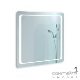 Дзеркало для ванної кімнати з LED підсвічуванням Liberta Modern 800x700