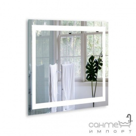 Зеркало для ванной комнаты с LED подсветкой Liberta Classic 800x800