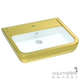 Раковина Idevit Halley 3201-0455-11 білий золото