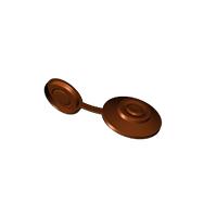 Захисний ковпачок Керамопласт 23х4,2 мм коричневий