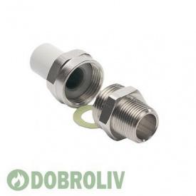 Резьбовое соединение EKOPLASTIK Wavin 32 мм