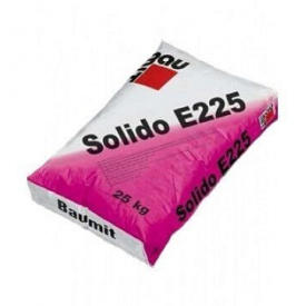 Цементно-піщана стяжка Бауміт Солидо Е225 25 кг