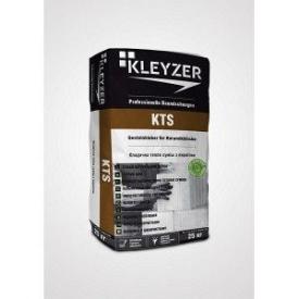 Клей для кладки цегли блоків Kleyzer KTS