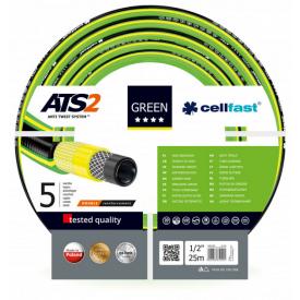 Шланг садовий Cellfast Green ATS2 для поливу 1/2 дюйма 25 м
