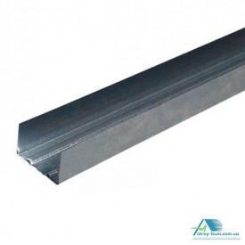 Профиль для гипсокартон Интерпрофиль UD 28x27 3 м 0.45 мм