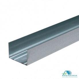 Профиль для гипсокартона Интерпрофиль UW 75x40 3 м 0.55 мм