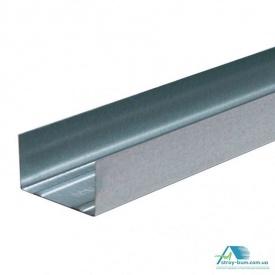 Профиль для гипсокартона Интерпрофиль UW 100x40 4 м 0.55 мм