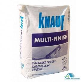 Шпаклівка гіпсова Knauf Мульти-Фініш 25 кг