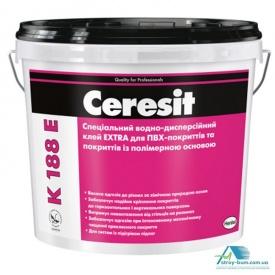 Клей для ПВХ-покриттів Ceresit K-188 E 12 кг