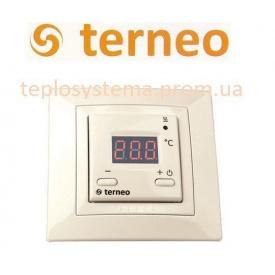 Терморегулятор для теплої підлоги TERNEO ST unic слонова кістка