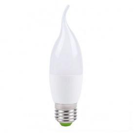Лампа светодиодная свеча на ветру CF37 7W E27 2700K LB-97 Feron